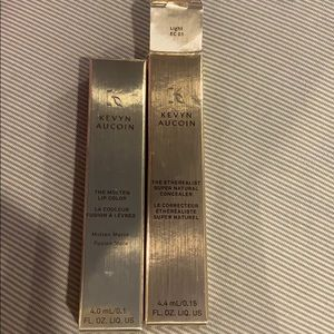 Kevin aucoin lip color and concealer